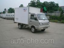 Guodao JG5010XBW insulated box van truck