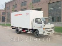 Guodao JG5045XBW insulated box van truck