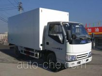 Guodao JG5045XBWA insulated box van truck