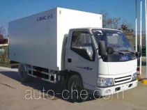 Guodao JG5045XBWB insulated box van truck