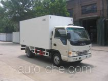 Guodao JG5046XBW insulated box van truck