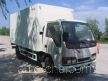 Guodao JG5048XBW insulated box van truck