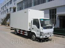 Guodao JG5048XBWA insulated box van truck