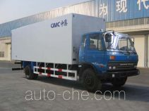 Guodao JG5122XBWB insulated box van truck