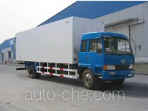 Guodao JG5122XBWD insulated box van truck