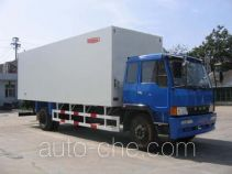 Guodao JG5133XBW insulated box van truck