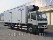 国道牌JG5162XLC型冷藏车