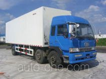 Guodao JG5200XBW insulated box van truck