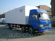 Guodao JG5201XBW insulated box van truck