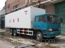 Guodao JG5241XBW insulated box van truck