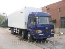 Guodao JG5243XBW insulated box van truck