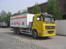 Guodao JG5250THZ explosive mixture and charges transport truck