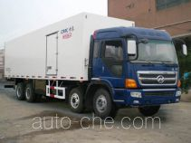 Guodao JG5311XBWNJ insulated box van truck
