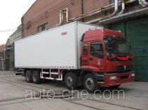 Guodao JG5313XBW insulated box van truck