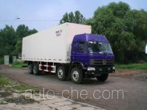 Guodao JG5315XBWEQ insulated box van truck