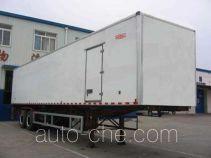 Guodao JG9280XBW insulated van trailer
