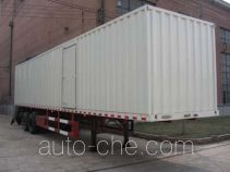 Guodao JG9290XXY box body van trailer