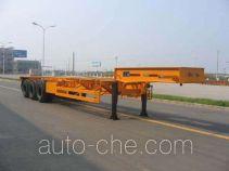 国道牌JG9345TJZ型集装箱运输半挂车