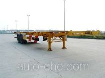 国道牌JG9350TJZ型集装箱运输半挂车