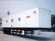 Guodao JG9350XBW insulated van trailer