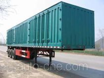 Guodao JG9391XXY box body van trailer