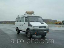 山花牌JHA5040XJE型无线电监测车
