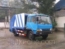 Shanhua JHA5120ZLJ rear loading garbage compactor truck