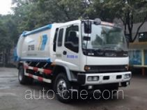 Shanhua JHA5140ZYS rear loading garbage compactor truck