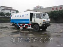 Shanhua detachable body garbage compactor truck