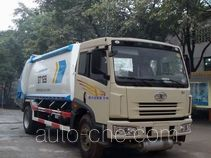 Shanhua JHA5162ZYS rear loading garbage compactor truck