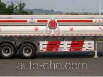 Shanhua JHA9360GGY high pressure gas long cylinders transport trailer