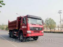 圆易牌JHL3257M34ZZ型自卸汽车