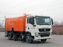 圆易牌JHL5160TXS型洗扫车