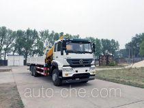 Yuanyi JHL5251JSQE truck mounted loader crane