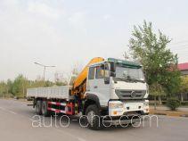 圆易牌JHL5251JSQM57ZZG型随车起重运输车