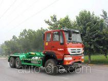 圆易牌JHL5254ZXXK44ZZ型车厢可卸式垃圾车