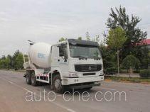 圆易牌JHL5257GJBN38ZZ型混凝土搅拌运输车