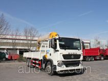 Yuanyi JHL5257JSQM58ZZG truck mounted loader crane