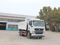 圆易牌JHL5257ZLJN38ZZG型自卸式垃圾车
