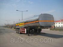 圆易牌JHL9400GHY型化工液体运输半挂车