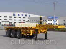 Haipeng JHP9300ZP flatbed dump trailer