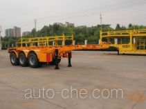 Haipeng JHP9401TWY dangerous goods tank container skeletal trailer