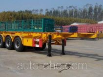 Haipeng JHP9402TWY dangerous goods tank container skeletal trailer