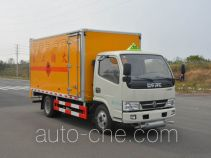 Duoshixing JHW5040XRQE5 flammable gas transport van truck