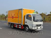 Duoshixing JHW5040XRYE5 flammable liquid transport van truck