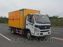 多士星牌JHW5080XRYB-A2型易燃液体厢式运输车