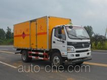 Duoshixing JHW5120XRQB-F6 flammable gas transport van truck
