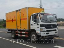 Duoshixing JHW5120XRYB-F6 flammable liquid transport van truck