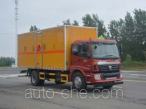 Duoshixing JHW5160XRQAC flammable gas transport van truck