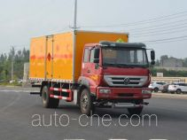 Duoshixing JHW5160XRQZ flammable gas transport van truck